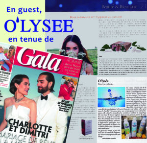 , O'lysée in the press !